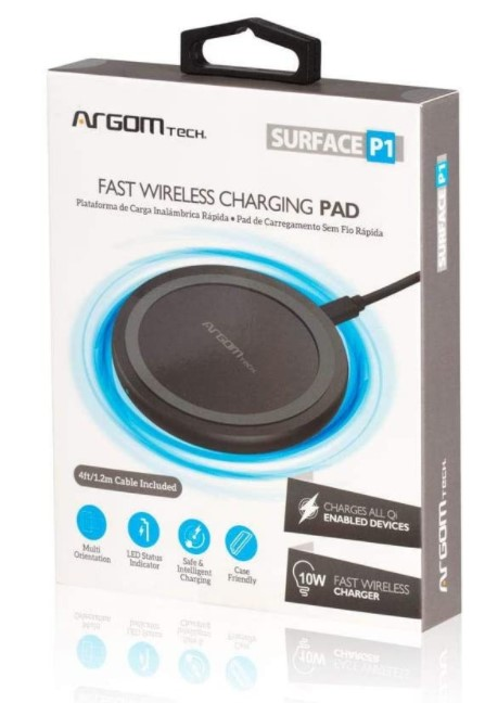 CARGADOR SURFACE P1 CARG WIRELESS 10W CRTF QI