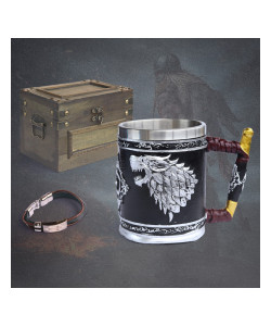 Cofre de Medieval - Taza Game of Thrones Coleccionable