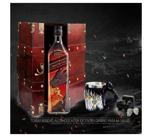 Pack Johnnie Walker - Game of Thrones A Song of Fire