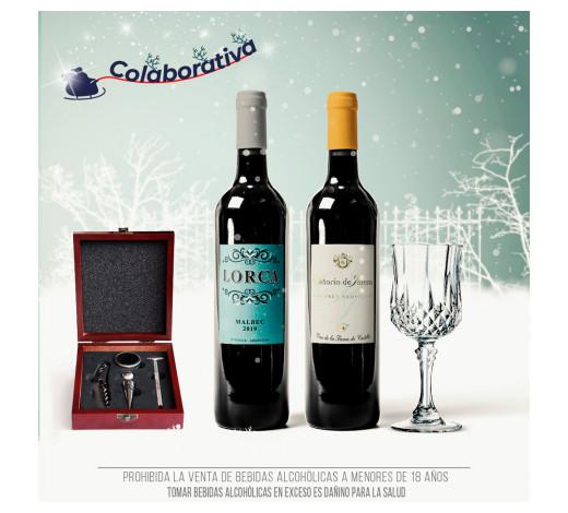Pack Vino Español y Argentino