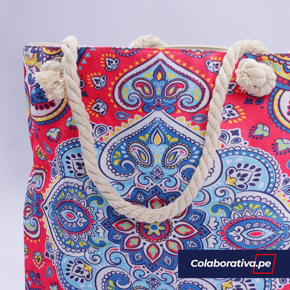 Bolsa Mandala Fucsia