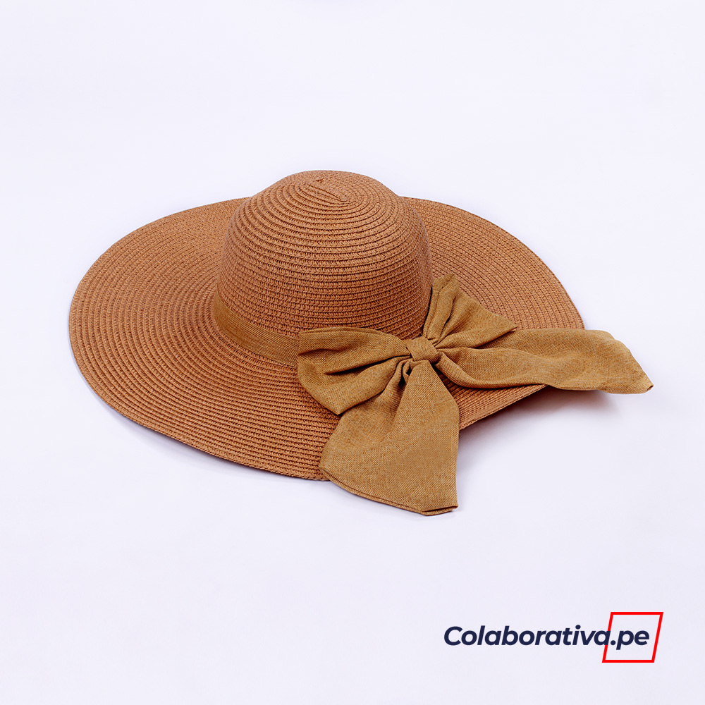 Sombrero Lazo Camel
