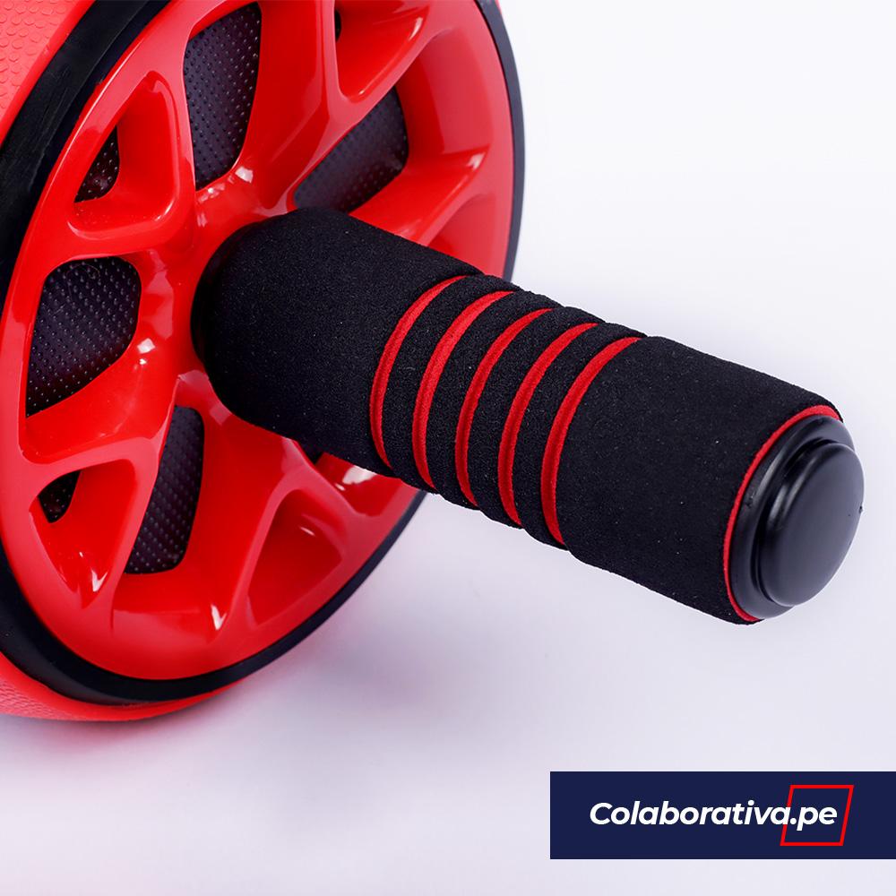 Rueda Abdominal Muscle Rojo