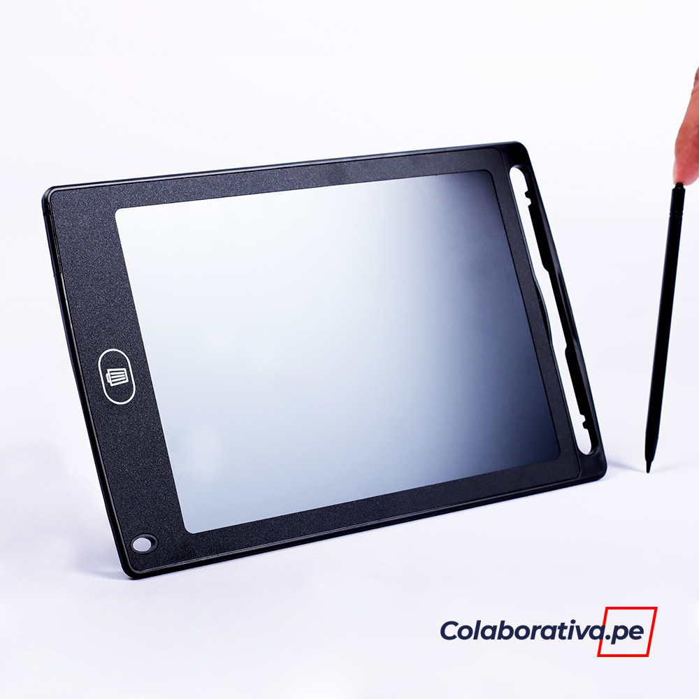 PIZARRA PARA NIÑOS PANTALLA LCD 8.5 ´´ - NEGRO