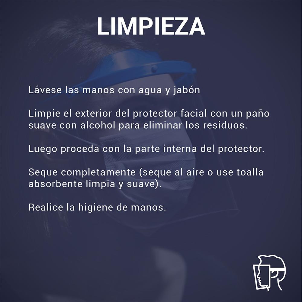 Protector Facial Rebatible 05 Unidades / DELIVERY GRATIS!!!