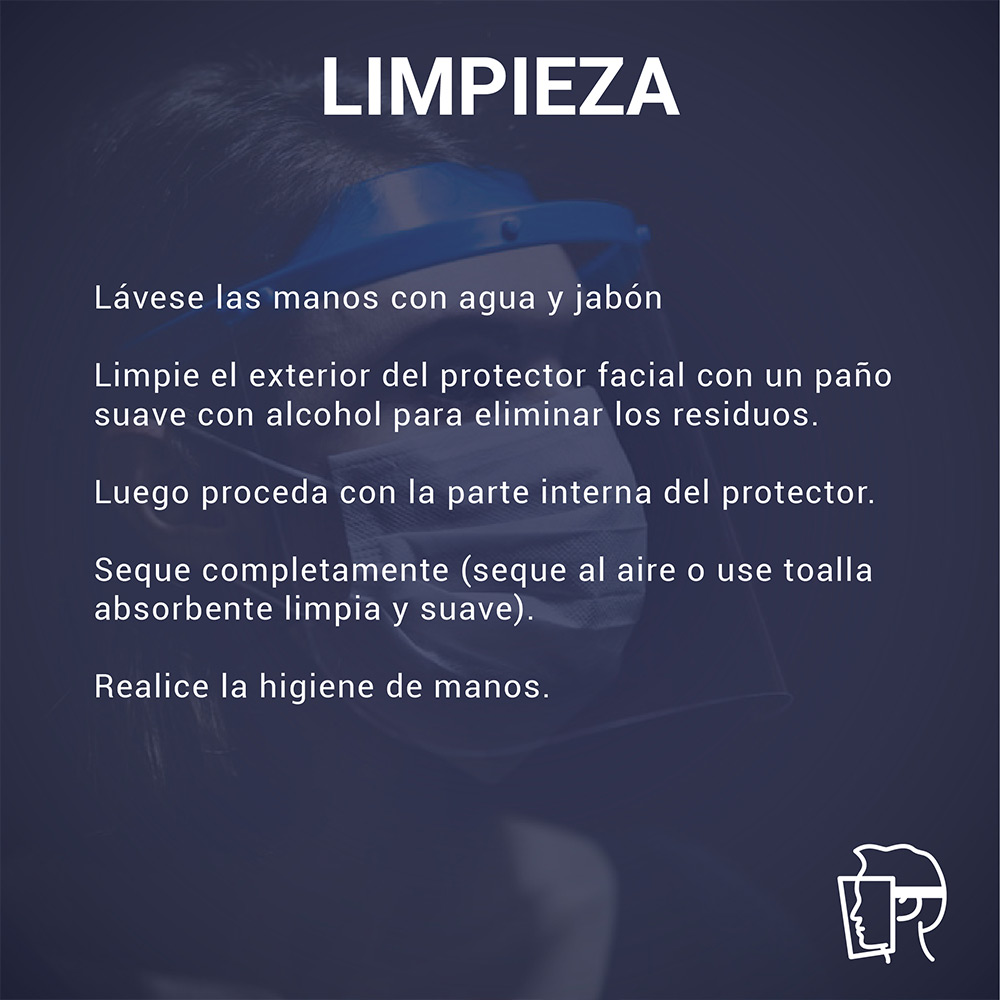 Protector Facial Rebatibe 10 Unidades / DELIVERY GRATIS!!!