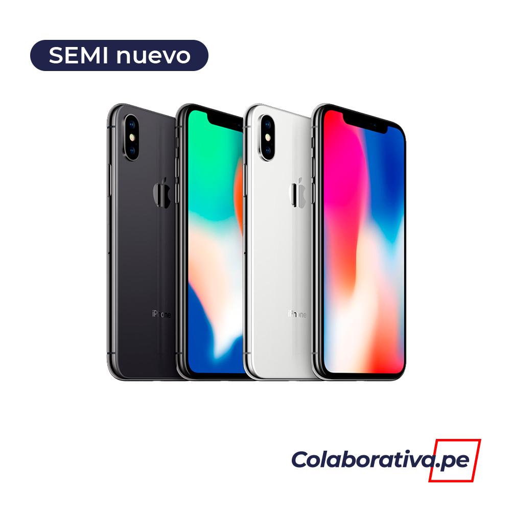 iPhone X (64GB) - Semi Nuevo