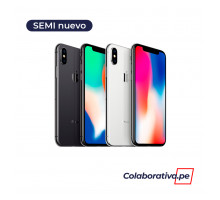 iPhone X (256GB) - Semi Nuevo