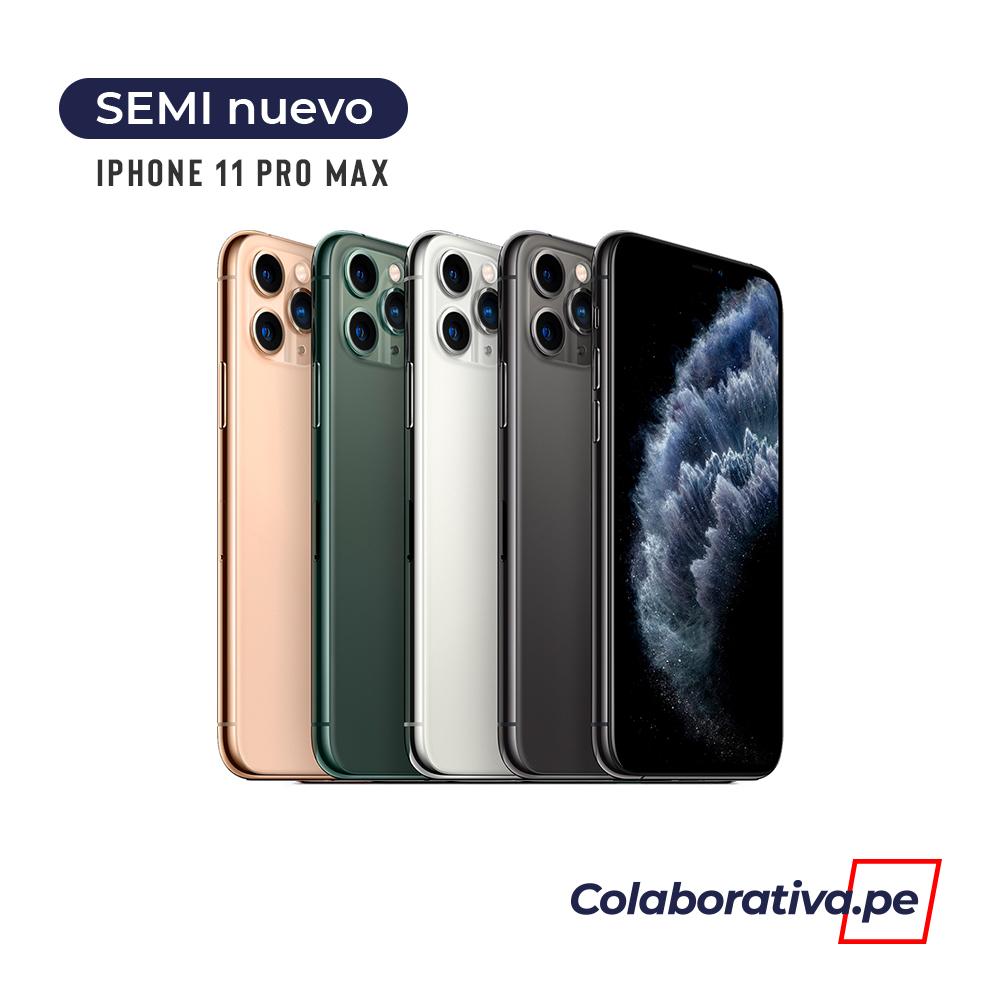 iPhone 11 Pro Max 64GB - Semi Nuevo