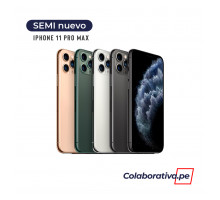 iPhone 11 Pro Max 64GB - Semi Nuevo