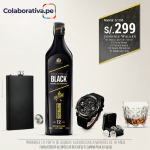 Pack Black Label Edición Privada