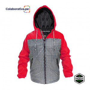 Casaca Winter Diamond Rojo
