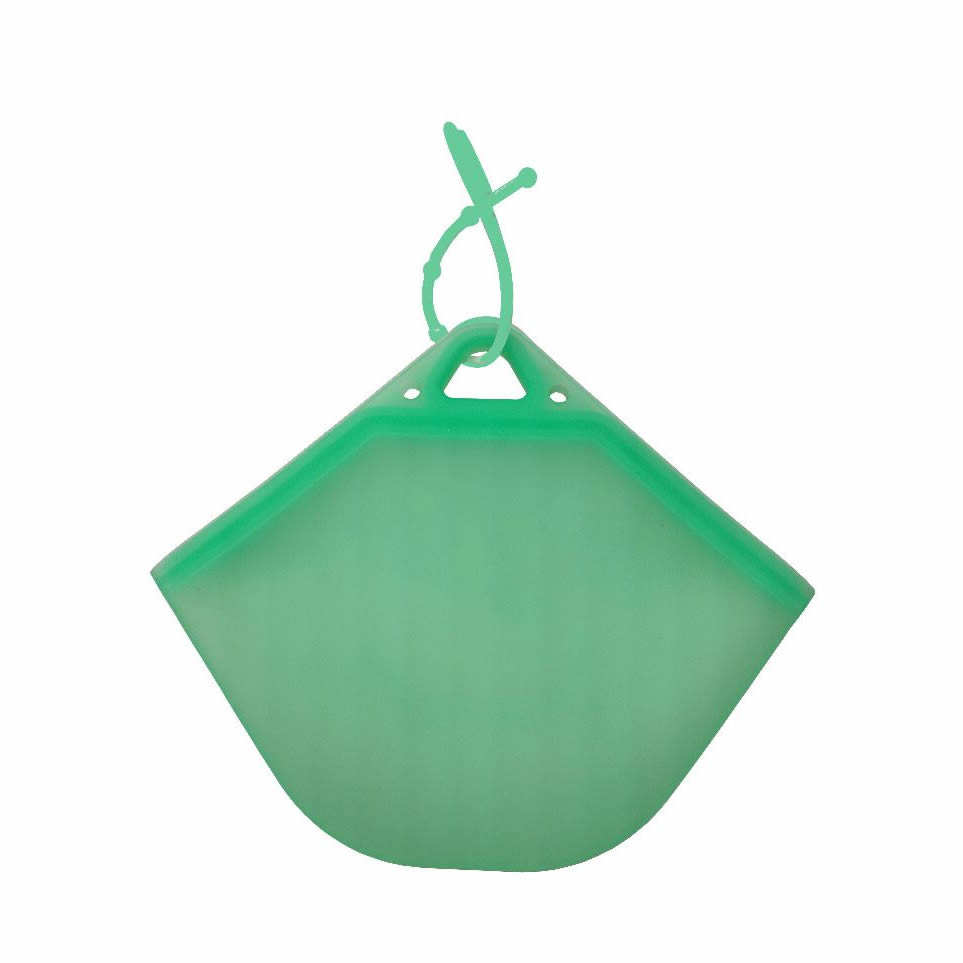 Porta Mascarillas De Silicona N95/KN95 - Verde