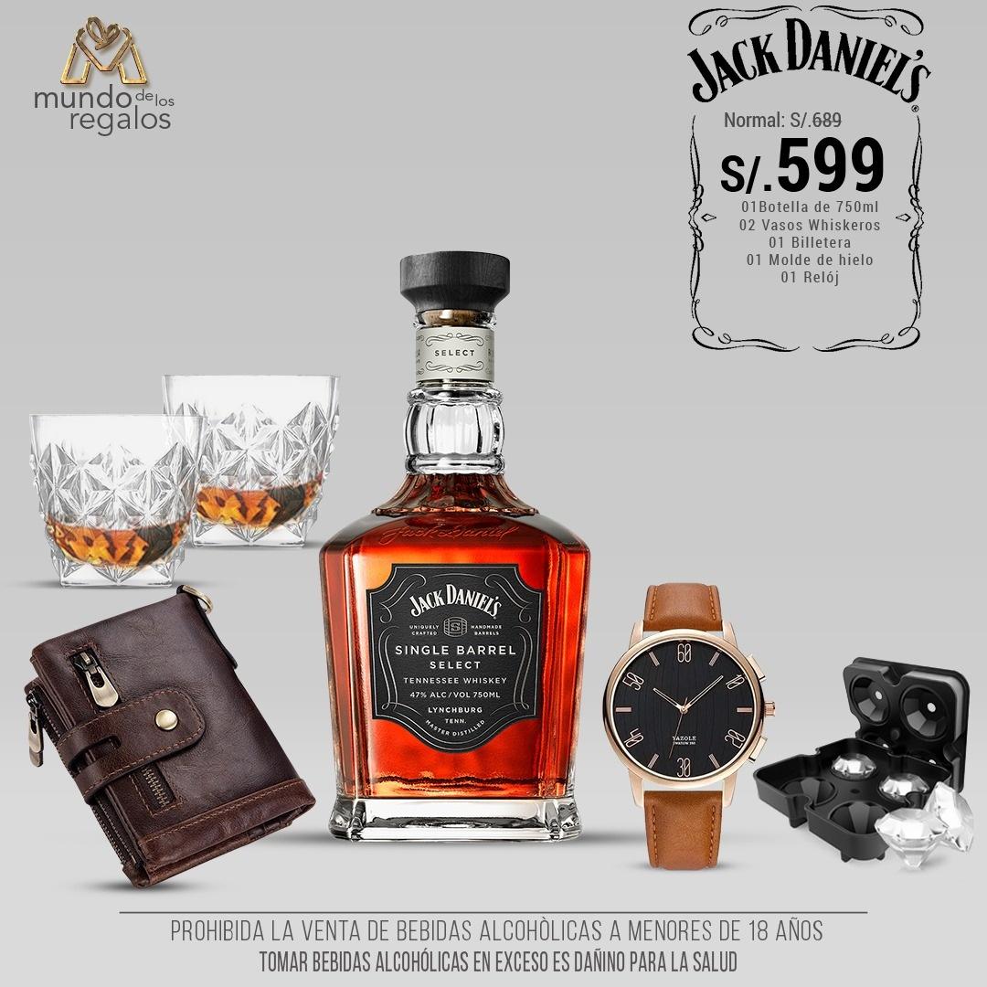 Pack Jack Daniels Whiskey Edición Privada