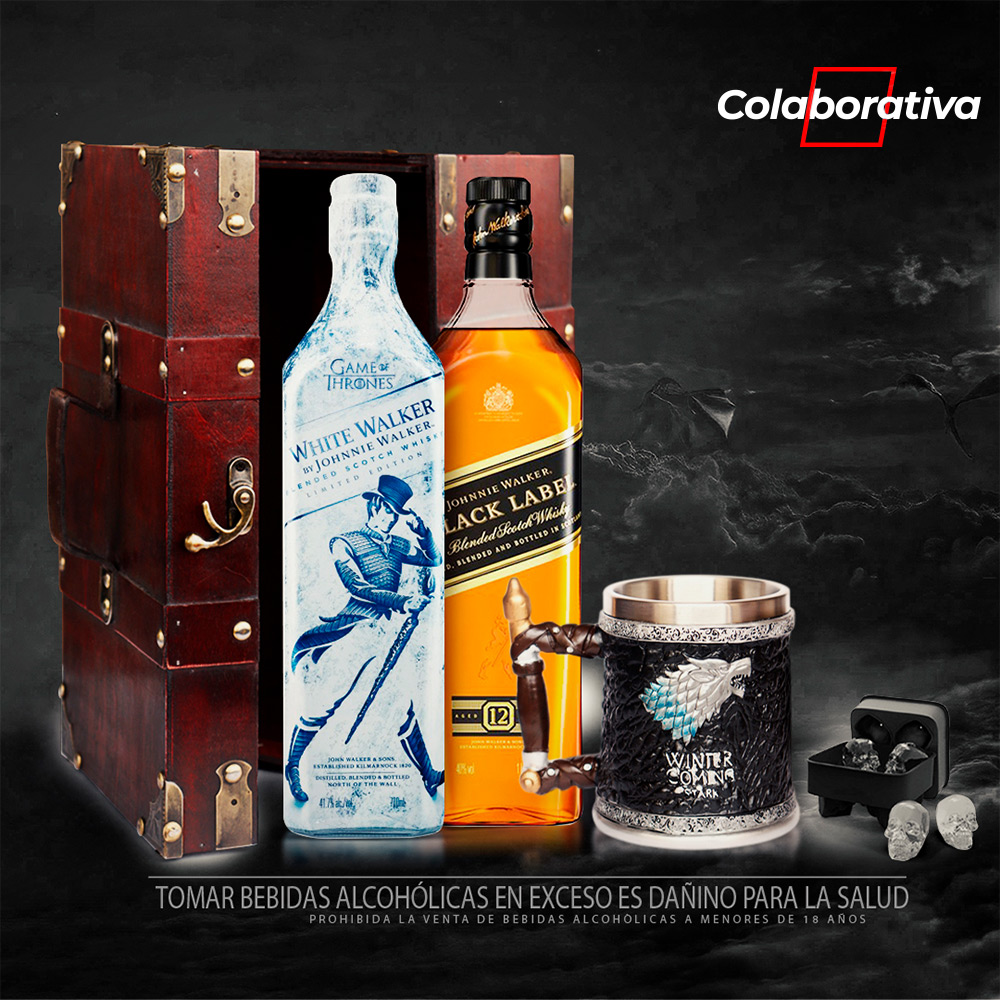 Pack Johnnie Walker - Game of Thrones