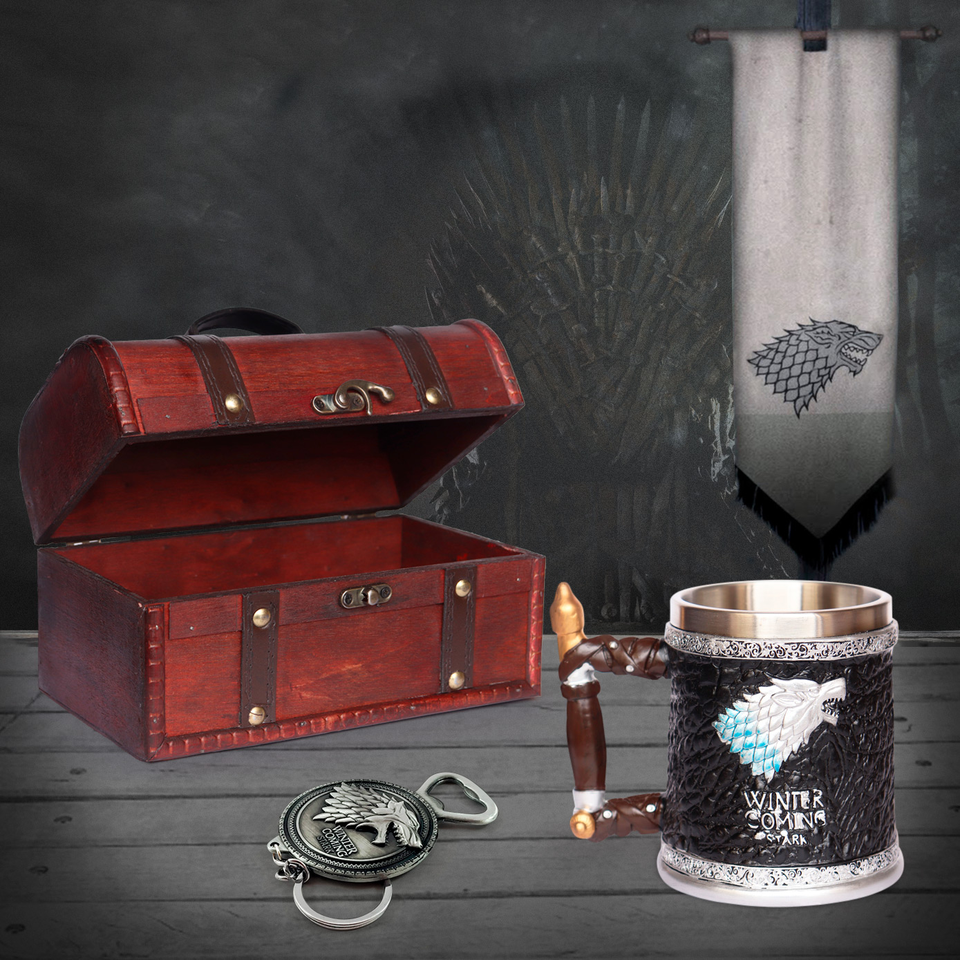 Cofre Winter Is Coming Game of Thrones Coleccionable