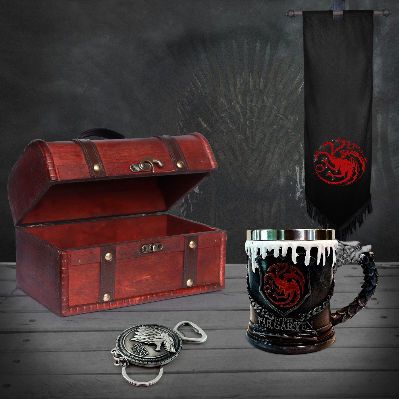 Cofre fire and blood Game of Thrones Coleccionable