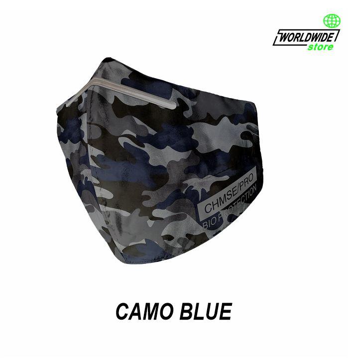 Mascarilla CHMSE/PRO CAMO BLUE