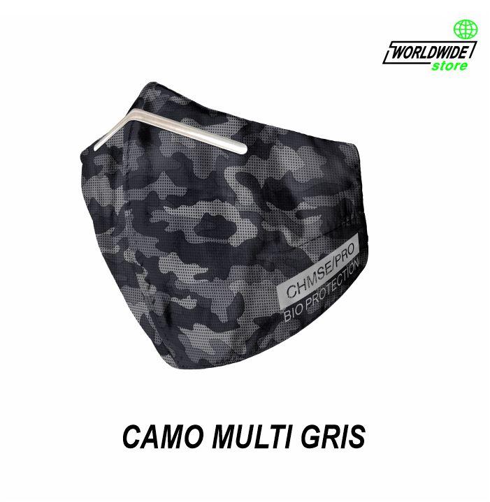 Mascarilla CHMSE/PRO CAMO MULTI GRIS