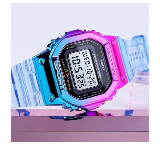 Reloj Digital Deportivo Azul