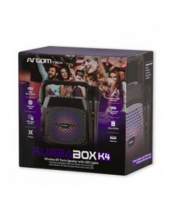 ALTAVOZ INALÁMBRICO BT RUMBA BOX K4 TWS